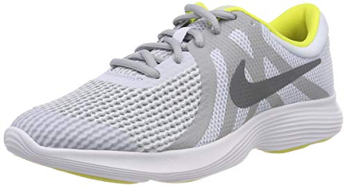 new product 8d47f b689d Nike Revolution 4 (GS), Zapatillas de Running para Niños, Gris (Football
