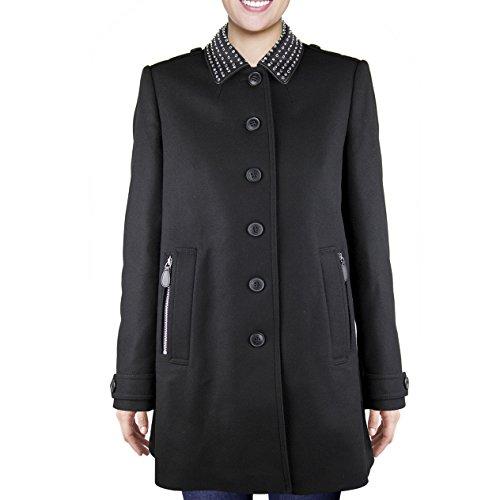 Burberry - Cappotto da donna, nero, 12