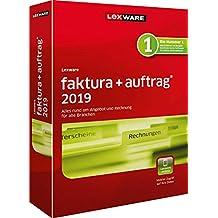 Lexware faktura+auftrag 2019|basis-Version Minibox (Jahreslizenz)|Einfache Auftrags- und Rechnungs-Software für alle Branchen|Kompatibel mit Windows 7 oder aktueller