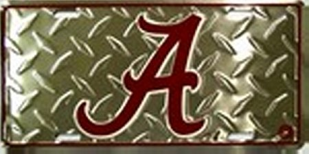 Alabama A Crimson Tide College License Plate Plates Tags auto vehicle car front by Rico
