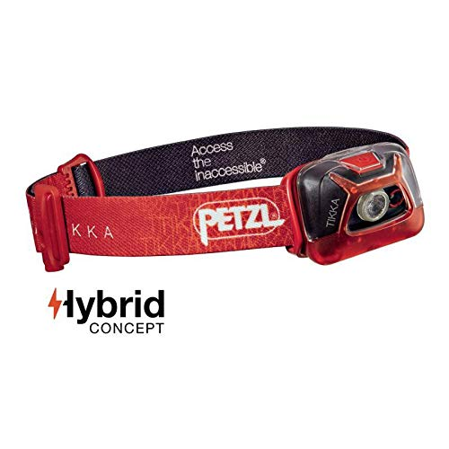 Petzl, Tikka, Red, E93AAC (Hand-fan Solide)