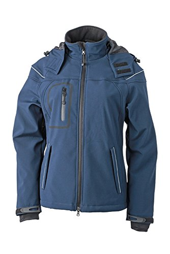 JN1001 Ladies' Winter Softshell Jacket Modische Winter Softshelljacke Navy