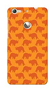 KnapCase Rhinocerous Designer 3D Printed Case Cover For LeTV Le 1S