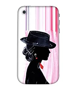 Fuson Designer Back Case Cover for Apple iphone 3GS (design art rangoli artwork)