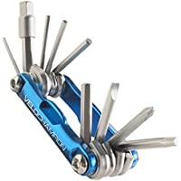 VeloChampion Premium Quality MLT10 Bike Multi Tool - 10-in-1 Multi-Function Cycling Maintenance Tool - Portable Reliable, Built To Last & Easy To Use