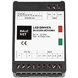 Dalcnet DLX1224-4CV-DMX Led Dimmer DMX512 4 Ch RGB RGBW