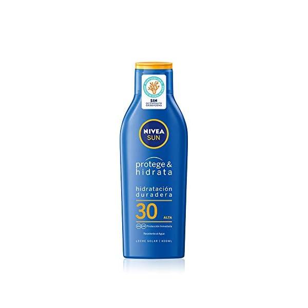 Nivea sun – Immediate protection, loción solar hidratante, factor de protección solar 30