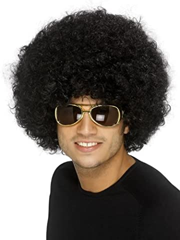 Game Night Costume Ideas - Perruque afro noir