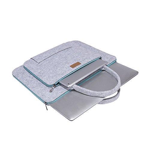 60a31f19e2 Ropch 11 11.6 Pouces Housse en Feutre pour Ordinateur Portable Laptop Sleeve  avec Poignée