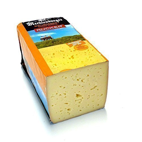 Alt Mecklenburger Tilsiter 60% Fett i.Tr. kräftiger Käse 500g