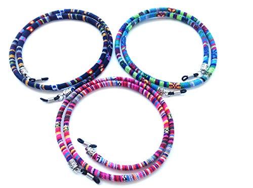 3 pcs cordón gafas,estampado etnico,HC Enterprise-N301