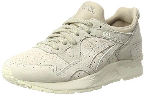 Asics Unisex Adults' Gel-Lyte V Low-Top Sneakers, Beige (Birch/Birch), 12 UK
