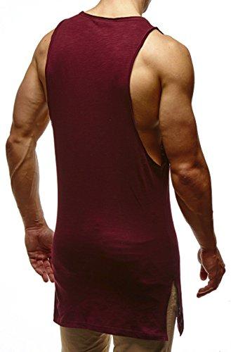 LEIF NELSON -  T-shirt - Uomo Bordeaux