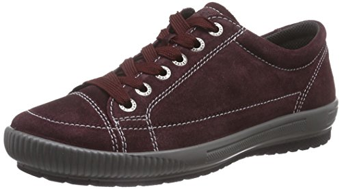 Legero TANARO, Low-Top Sneaker donna, Rosso (Rot (PORT 60)), 38.5