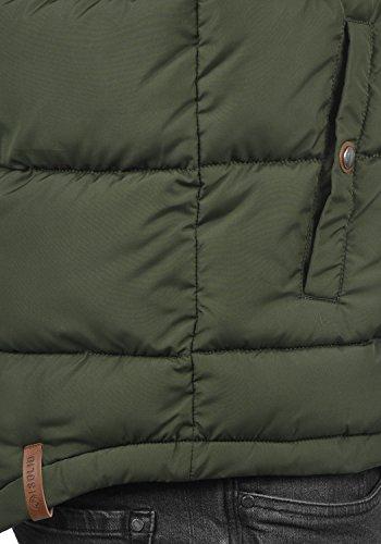 SOLID Denilson Herren Winterjacke Steppjacke aus hochwertiger Materialqualität Rosin (3400)