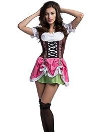 Deutsches Bier Beer-Oktoberfest-Maiden-Waitress Wench Halloween Kostüm