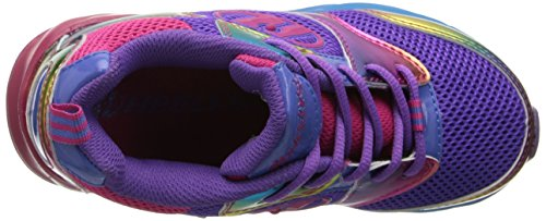 Heelys RACE Schuh 2015 purple/rainbow Violet rainbow