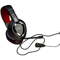 Mars Gaming MAH1 - Auriculares gaming (surround 7.1, tarjeta de sonido USB, drivers neodimio 40mm, diadema ajustable, rueda de control volumen, cancelación de ruido, ergonómico, jack 3.5mm, PC / ps4)
