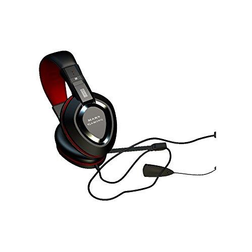 Mars Gaming MAH1 - Auriculares gaming (surround 7.1, tarjeta de sonido USB,...