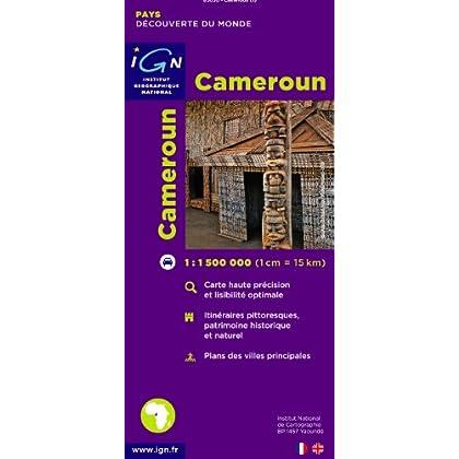 Carte routière : Cameroun