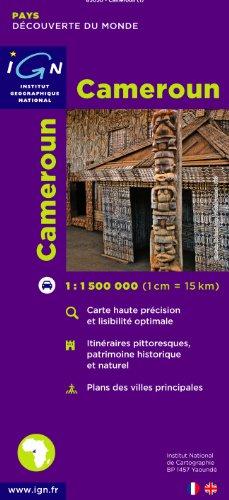 Carte routière : Cameroun par Cartes des Pays et Villes du Monde IGN