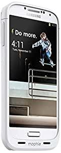mophie juice pack for Samsung Galaxy S4 (2,300mAh) - White