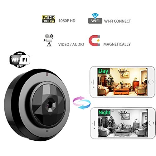 Mini IP Kamera WiFi 1080p Nachtsicht Android Wireless Outdoor Kleine HD Camcorder Bewegungserkennung Auto Sport