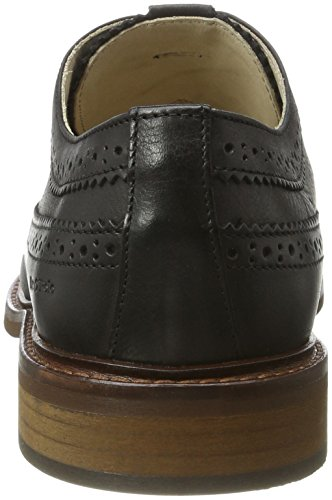 Marc O'Polo Herren 70123773402102 Lace Up Shoe Brogues Schwarz (Black)