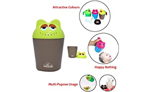 Safe-O-Kid Catchy Animal Shaped Hair Washing Cup (Brown)
