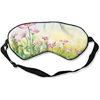 Sleep Eye Mask Pink Flowers Sunshine Lightweight Soft Blindfold Adjustable Head Strap Eyeshade Travel Eyepatch E2 preisvergleich bei billige-tabletten.eu