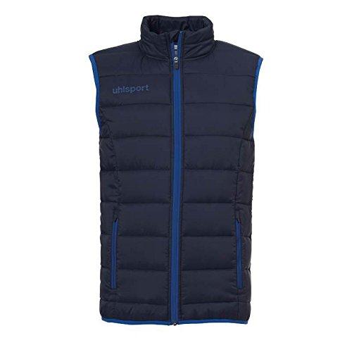 uhlsport Kinder Essential Ultra Lite Jacke, Marine/Azurblau, 164