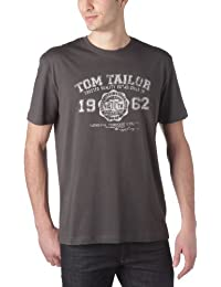 TOM TAILOR Herren T-Shirt Logo Tee