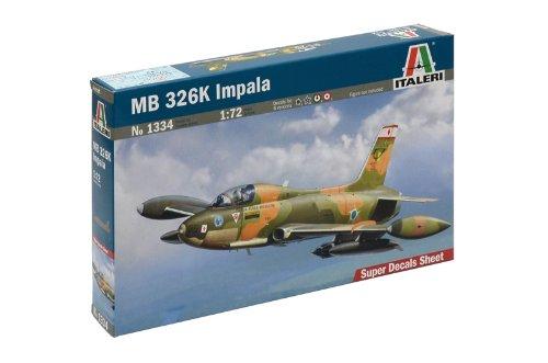 Italeri 510001334 - Kit de plástico, avión MB 326 K, escala 1:72