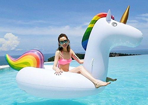 Dalosdream unicorno gonfiabile da piscina