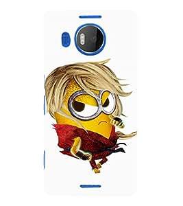 EPICCASE Cool dude Minion Mobile Back Case Cover For Microsoft Lumia 950 XL (Designer Case)