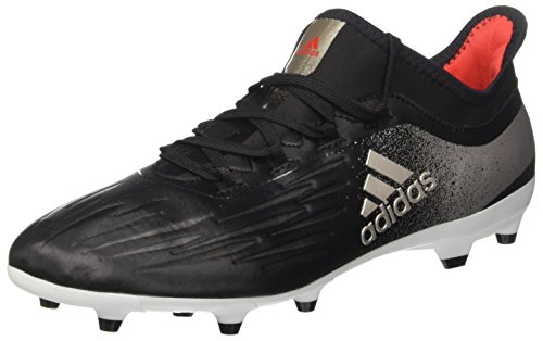 adidas X 17.2 Fg W, Scarpe da Calcio Donna Nero (Core Black/platin Metallic/core Red)