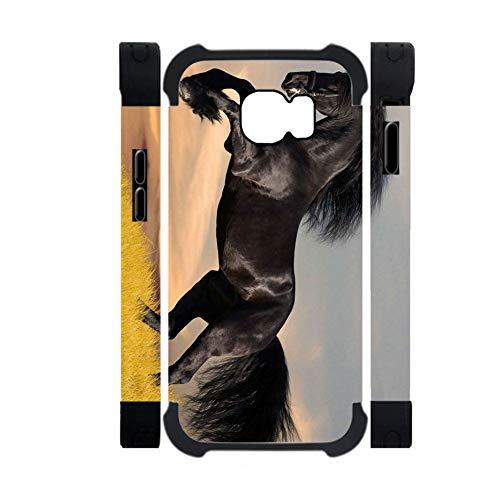 Babu Building Stoßfest Zum Samsung Galaxy S6 Fall Pc Und Weiches Kieselgel Für Typ Haben Mit Horse