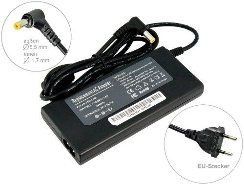 90W Super Slim Alimentatore AC Adapter per Notebook Carica Batterie