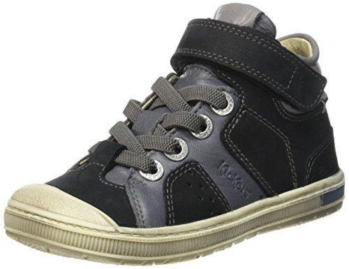 kickers-iguane-sneakers-hautes-garcons-noir-noir-blanc-34-eu