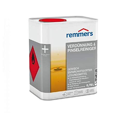 Sicherheits-lösungsmittel-reiniger (Remmers Verdünnung & Pinselreiniger Lösungsmittel Farbverdünner Reiniger)