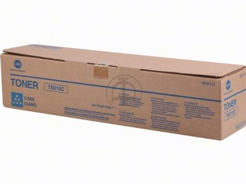 Konica Minolta 8938512 - Bizhub C250, Toner TN210C, 12.000 pagine,