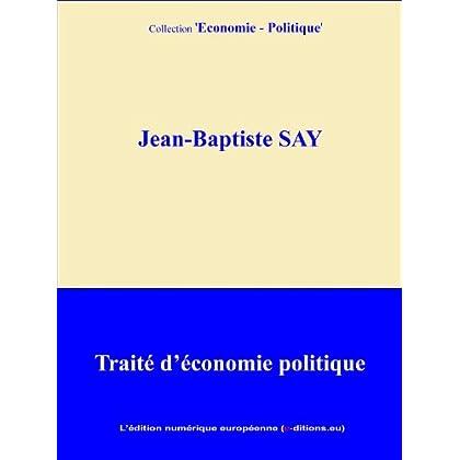Traité d'économie politique (annoté)