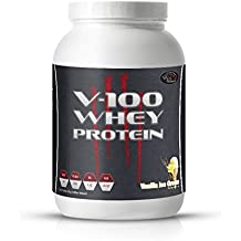 V-100 Whey Isolat 2 Kg Geschmack VANILLE MADE IN GERMANY
