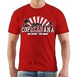 Männer und Herren T-Shirt Copacabana Größe S - 8XL