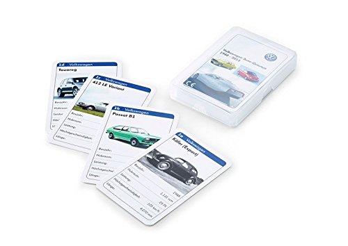 Volkswagen 5C0087528 VCD Kartenspiel Spiel VW Quartett Auto-Quartett Spielzeug