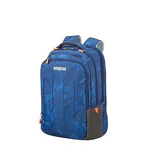 American Tourister Urban Groove – 15.6 Pulgadas Mochila para portátil, 44 cm, 26.5 L, Azul (Camo Blue)