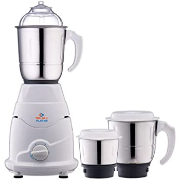 Bajaj Platini PX 75M 500-Watt Mixer Grinder with 3 Jars