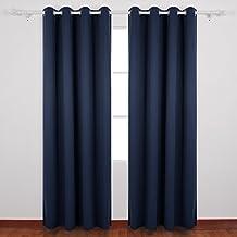 Gardinen dunkelblau