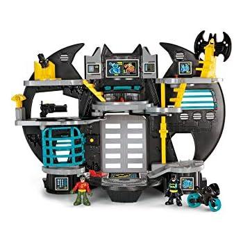 Imaginext FGF37 BAT Bot Xtreme 2 FT Tall BATMAN figura giocattolo con voce CHANGER,