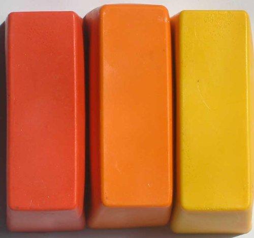 Encaustic Wachsfarben, Künstlerwachs Block-Sortiment 1